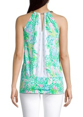 Lilly Pulitzer Bowen Printed Chain Top