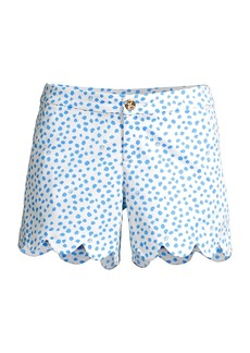 Lilly Pulitzer Buttercup Scallop Shorts