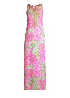 Lilly Pulitzer Carlotta Floral Maxi Dress