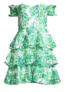 Lilly Pulitzer Cicely Off-The-Shoulder Tiered Dress