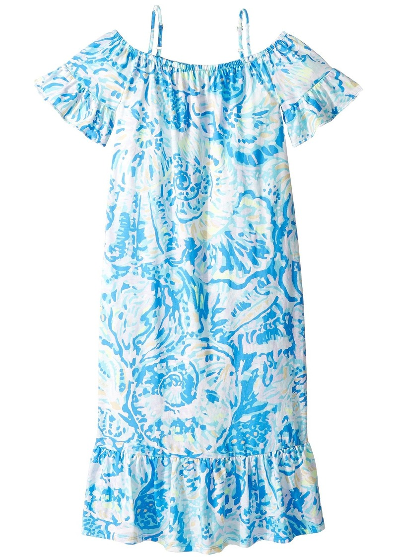 4369278ae Lilly Pulitzer Clary Maxi Dress (Toddler/Little Kids/Big Kids) | Dresses