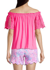 Lilly Pulitzer Fayette Off-The-Shoulder Top