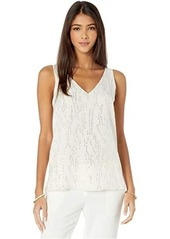Lilly Pulitzer Florin Silk Sleeveless V-Neck