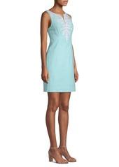 Lilly Pulitzer Gabby Sequined Silk Sheath Dress