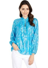 Lilly Pulitzer Galiana Silk Top