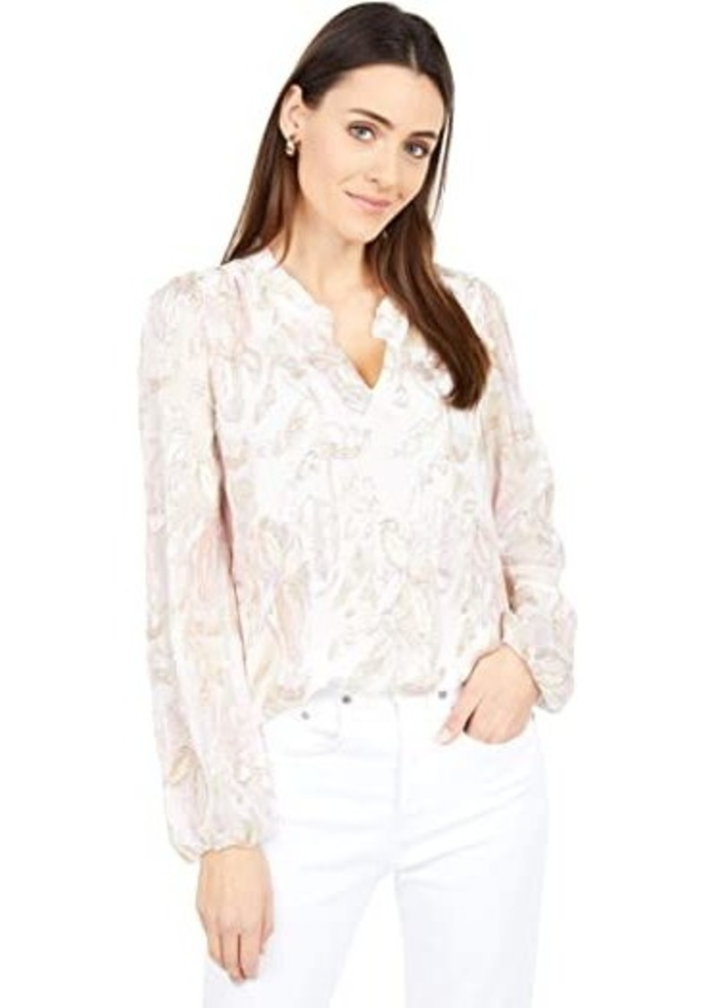 Lilly Pulitzer Giana Silk Top