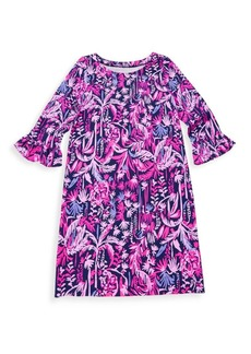 Lilly Pulitzer Girl's Jungle Print Dress