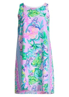 Lilly Pulitzer Jackie Abstract Silk Shift Dress