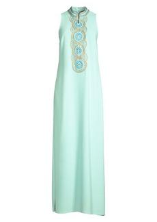 Lilly Pulitzer Jane Embellished Long Shift Dress