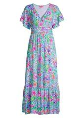 Lilly Pulitzer Jessi Floral Maxi Dress