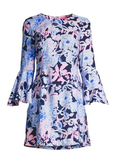 Lilly Pulitzer Kayla Stretch Floral Shift Dress