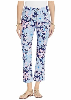 Lilly Pulitzer Kelly High-Rise Crop Flare Pants
