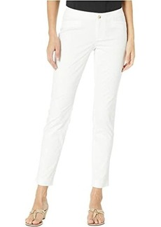 Lilly Pulitzer Kelly Textured Ankle Length Skinny Pants