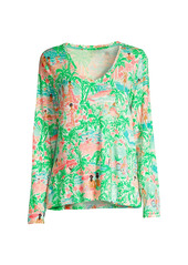 Lilly Pulitzer Knit Long-Sleeve Pajama Top