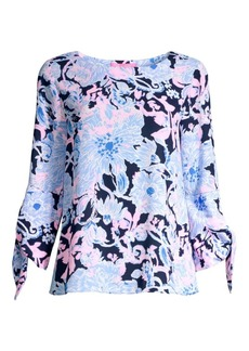 Lilly Pulitzer Langston Floral Top
