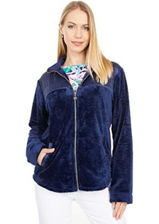 Lilly Pulitzer Leona Plush Zip-Up