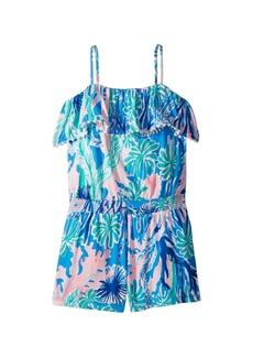 Lilly Pulitzer Leonie Romper (Toddler/Little Kids/Big Kids)