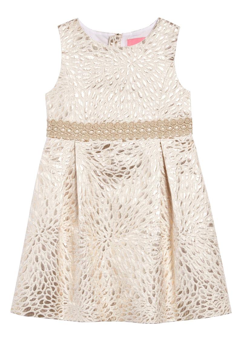 Lilly Pulitzer® Abrianna Jacquard A-Line Dress (Toddler Girls, Little Girls & Big Girls)