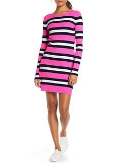 Lilly Pulitzer® Adeen Stripe Long Sleeve Sweater Dress