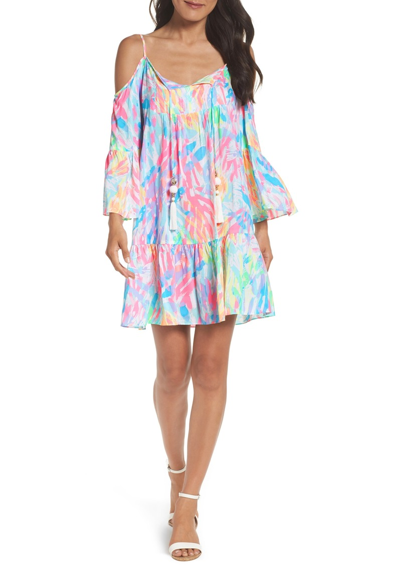 fa28199ce76a3 Lilly Pulitzer Lilly Pulitzer® Alanna Cold Shoulder Dress