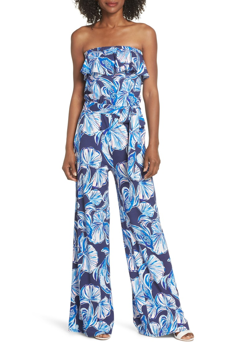 389d6d4d5990 Lilly Pulitzer Lilly Pulitzer® Aleatha Strapless Jumpsuit
