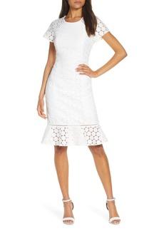 Lilly Pulitzer® Aliza Polka Dot Lace Shift Dress