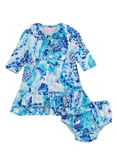 Lilly Pulitzer® Amelia Collared Dress (Baby Girls)