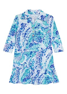 Lilly Pulitzer® Amelia Polo Dress (Toddler Girls, Little Girls & Big Girls)