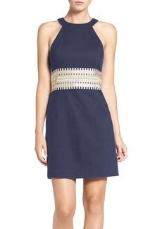 Lilly Pulitzer® 'Ashlyn' Lace Waist Cotton Sheath Dress