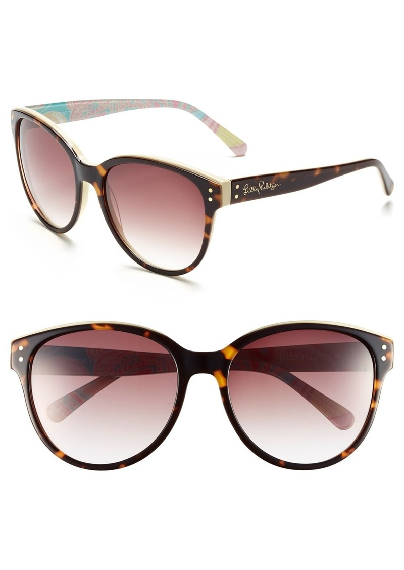 Lilly Pulitzer® 'Atwood' 58mm Sunglasses