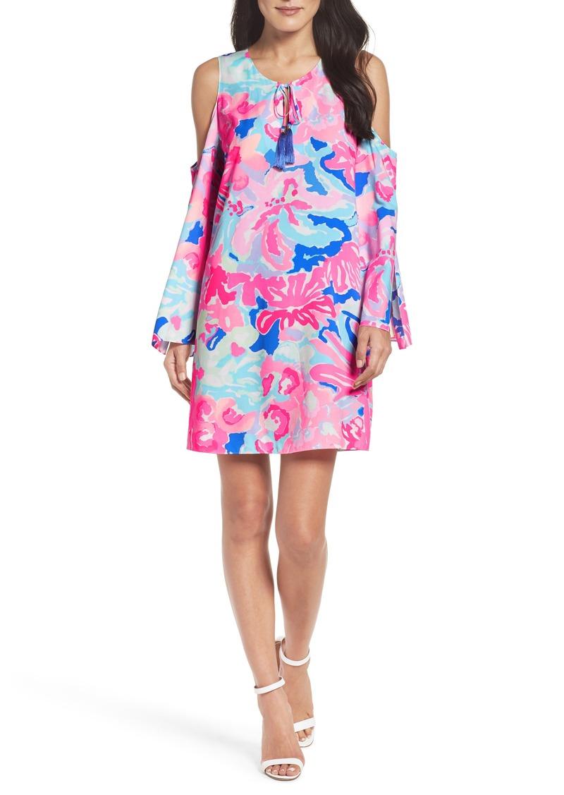 4b33f422699fa7 Lilly Pulitzer Lilly Pulitzer® Benicia Cold Shoulder Dress