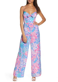 Lilly Pulitzer® Bente Bow Front Jumpsuit