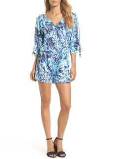 Lilly Pulitzer® Bryce Split Sleeve Romper