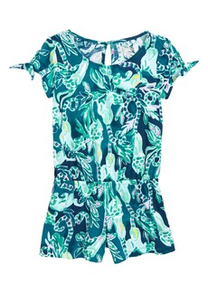 Lilly Pulitzer® Camryn Tie Sleeve Romper (Toddler Girls, Little Girls & Big Girls)