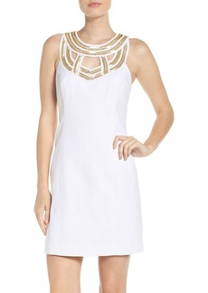 Lilly Pulitzer® Carlton Beaded Silk Dress