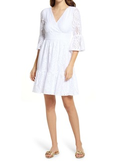Lilly Pulitzer® Cecelia Lace Fit & Flare Dress
