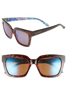 Lilly Pulitzer Celine 54mm Polarized Square Sunglasses