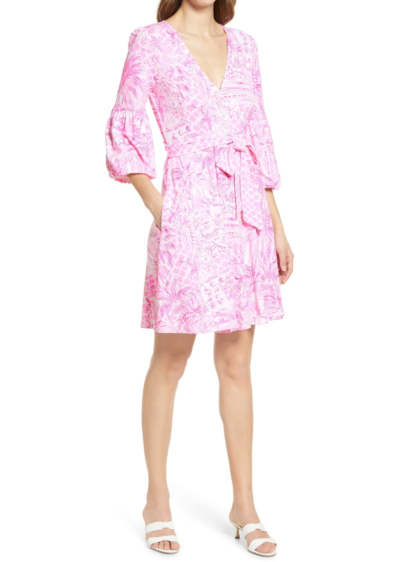 Lilly Pulitzer® Chace Print Faux Wrap Dress
