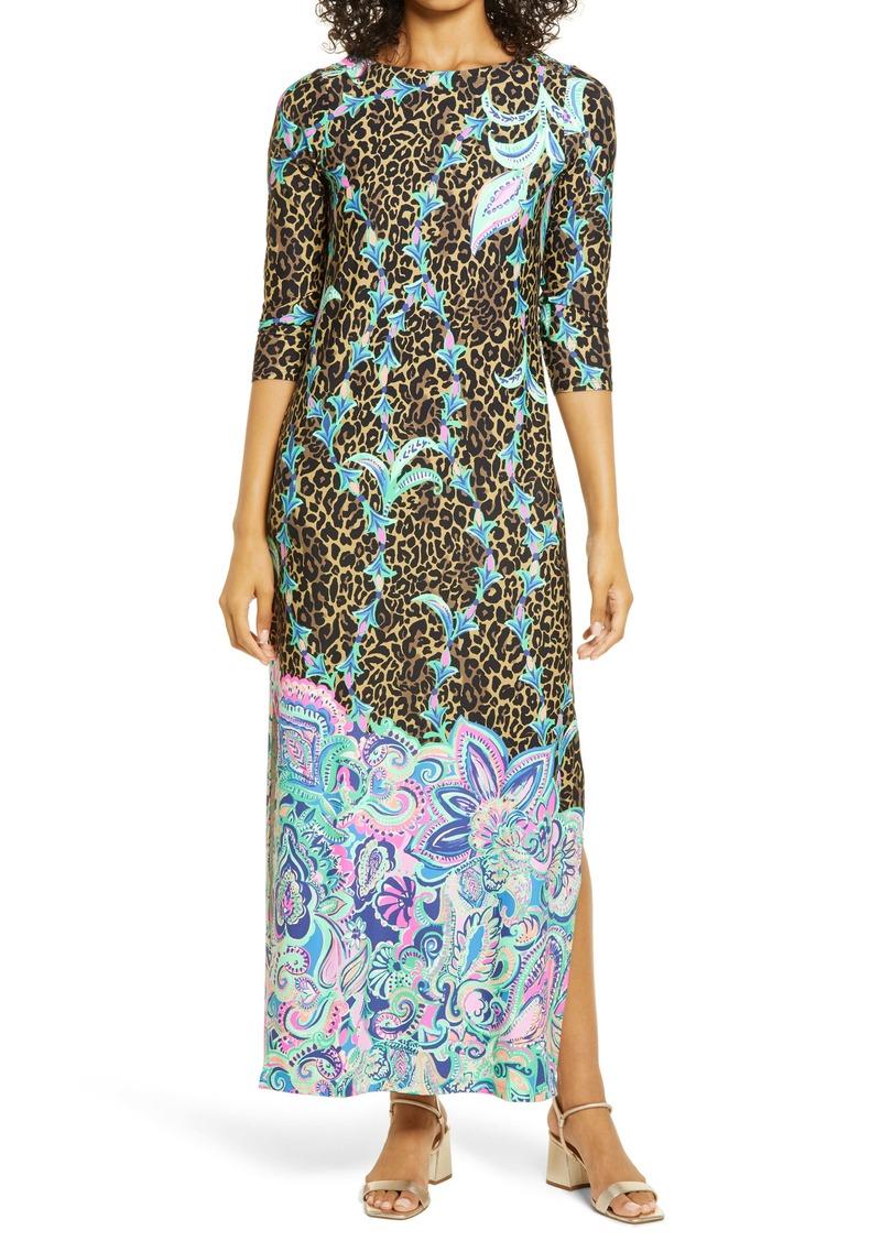 Lilly Pulitzer® ChillyLilly Seraline UPF 50+ Maxi Dress