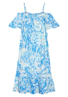 Lilly Pulitzer® Clary Cold Shoulder Maxi Dress (Toddler Girls, Little Girls & Big Girls)