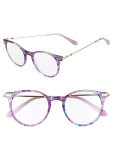 Lilly Pulitzer® Coast 48mm Round Reading Glasses