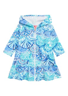 Lilly Pulitzer® Cooke Cover-Up Dress (Toddler Girls, Little Girls & Big Girls)