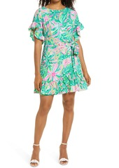 Lilly Pulitzer® Darlah Print Ruffle Dress