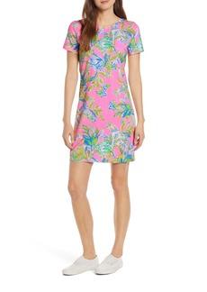 Lilly Pulitzer® Declan Floral Print T-Shirt Dress