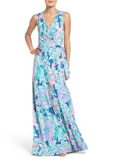 Lilly Pulitzer® Delfina Wrap Maxi Dress
