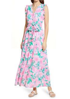Lilly Pulitzer® Destini Tie Waist Maxi Dress