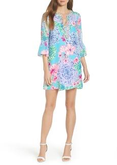 Lilly Pulitzer® Elenora Floral Embellished Silk Dress