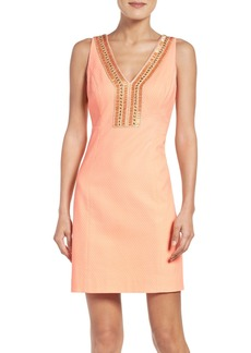Lilly Pulitzer® Embellished Sheath Dress