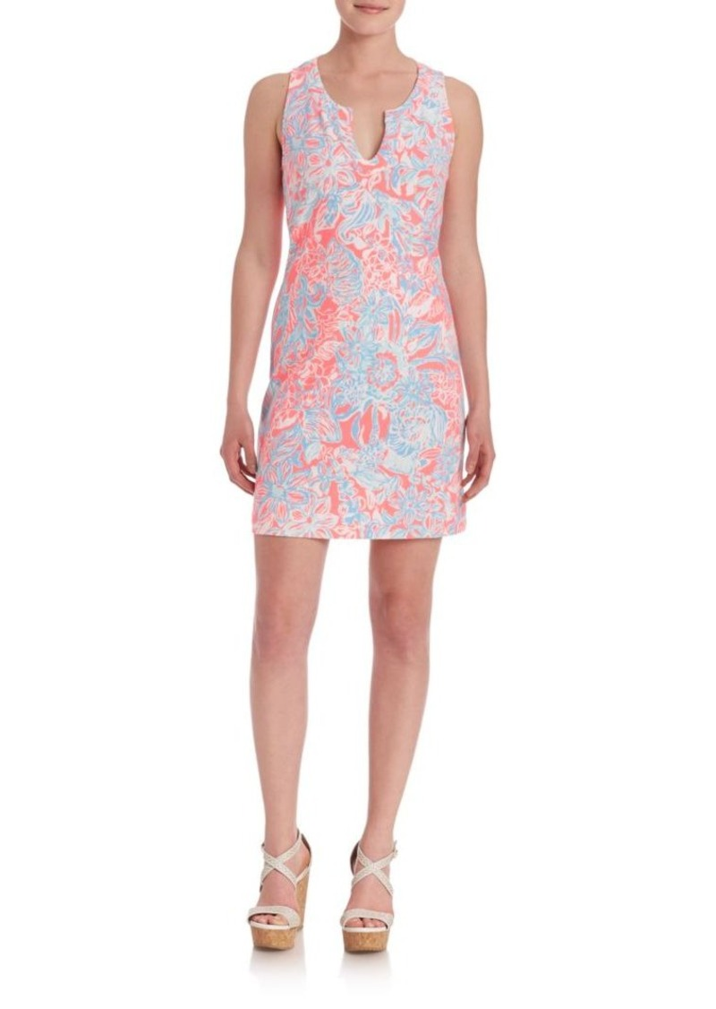 Lilly Pulitzer Estrada Floral Printed Shift Dress