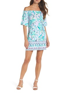 Lilly Pulitzer® Fawcett Off the Shoulder Shift Dress